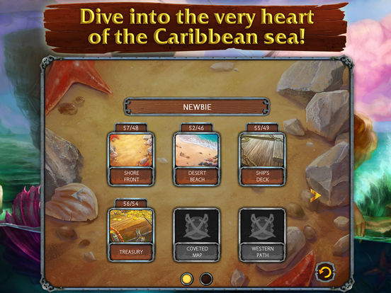 Solitaire Legend of the Pirates screenshot 8