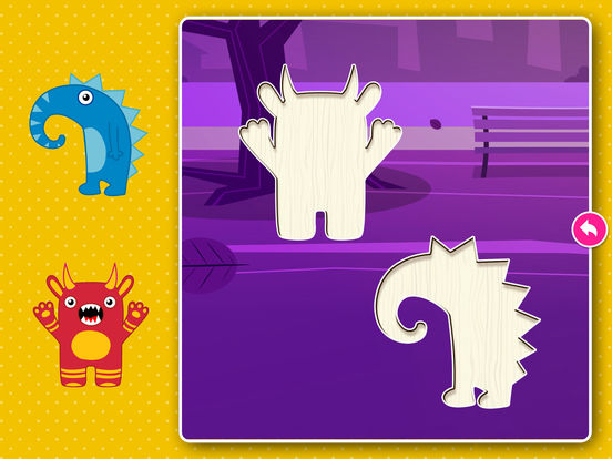 Monster Puzzle Games: Toddler Kids Learning Apps screenshot 8