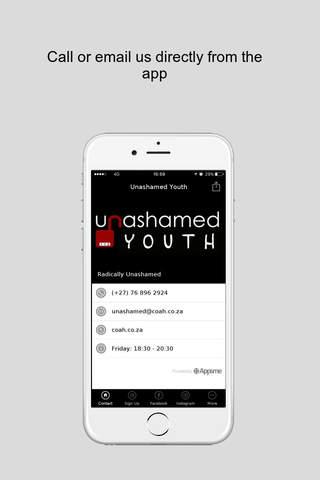 Unashamed Youth - náhled