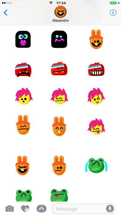 Funny Toons Stickers screenshot 1