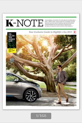 K-Note Magazine - náhled