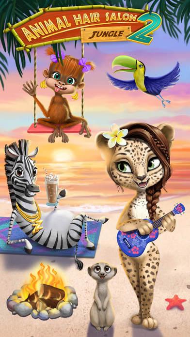 Jungle Animal Hair Salon 2 screenshot 1