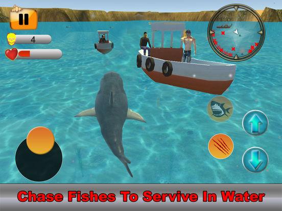 Hungry Shark Simulator : Amazing Fish Attack 2017 screenshot 9