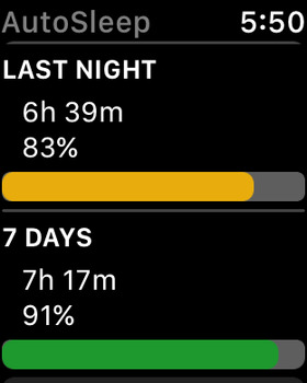 AutoSleep Tracker for Watch screenshot 7