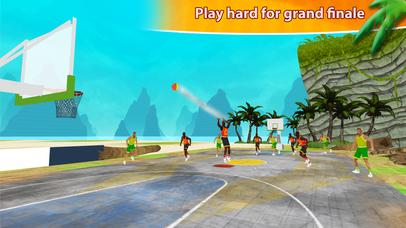 Beach Basketball Hoops - Slam Dunks for NBA Fans screenshot 3