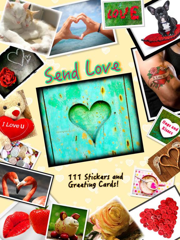 Send Love • Greeting cards screenshot 6