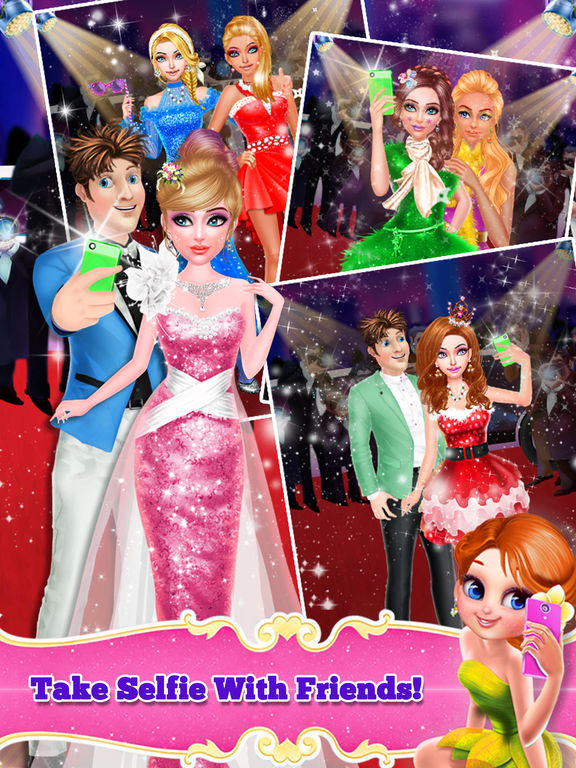 Christmas Celebrity Makeover screenshot 6