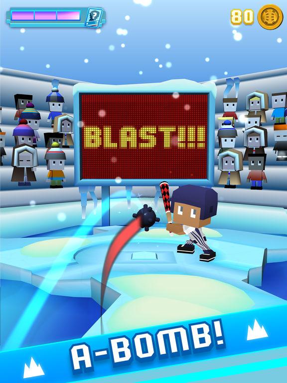 Blocky Baseball: Home Run Hero screenshot 7