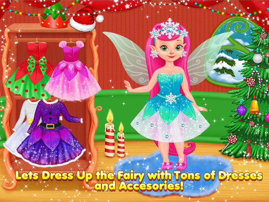Fairies Christmas Kitchen & Fun screenshot 7