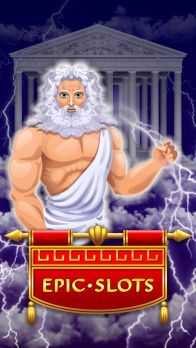 Zeus Epic Myth Slots Pro Edition screenshot 1