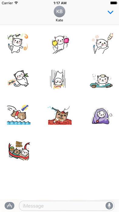 Cat And Dog - Lovely Pets Sticker screenshot 3