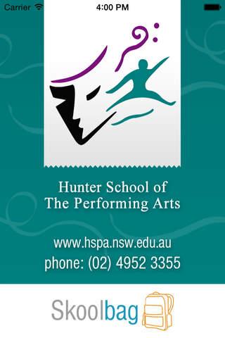 Hunter School of Performing Arts - Skoolbag - náhled