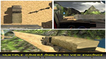 US Army Trucker Park : Gambler Traffic Sim-ulator screenshot 2