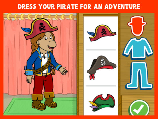 Arthur's Story Maker: Pirates – FREE Kids App screenshot 7