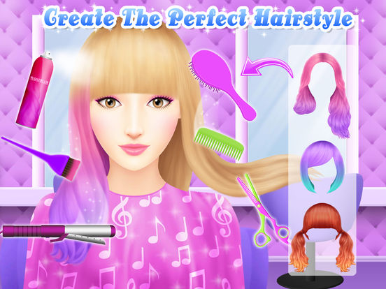 Angelina's Pop Star Salon - Spa & Makeup screenshot 9