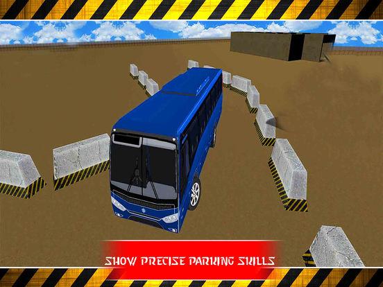 City Bus Parking : 3D Real Sim-ulation Drive-r screenshot 8