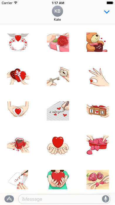 Signs Of Love - So Sweet Stickers! screenshot 1