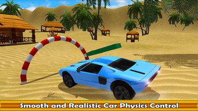 Water Surfing Car Racer screenshot 2