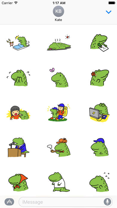 Alligator My Lovely Pet Sticker screenshot 2