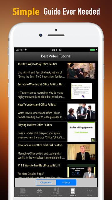 Office Politics Guide-HBR Strategic Tips screenshot 2