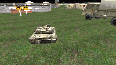 VR Military Tank Parking Driver Army Truck Driving screenshot 4