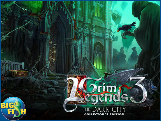 Grim Legends: The Dark City (Full) - Hidden Object screenshot 10