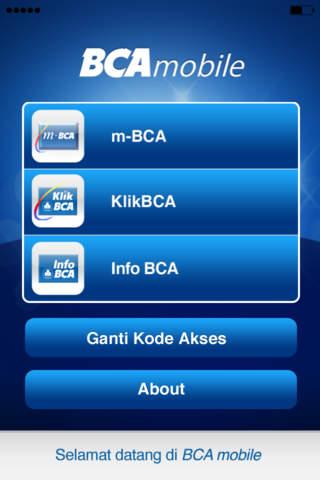 BCA mobile - náhled
