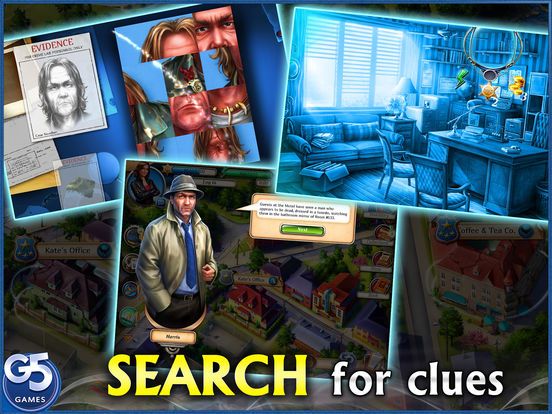 Kate Malone: Hidden Object Detective screenshot 3