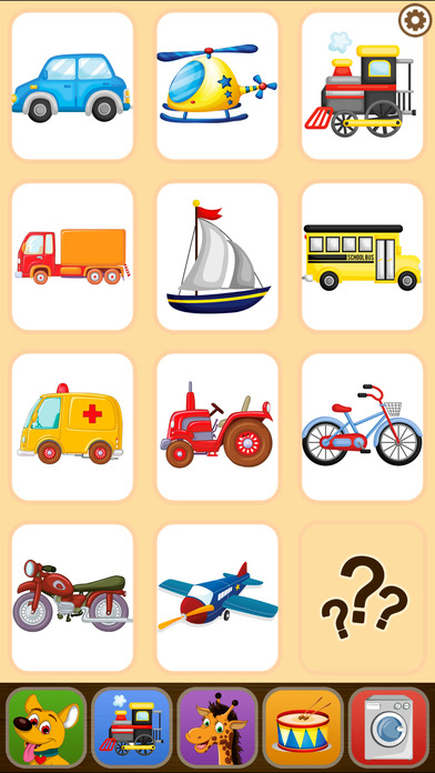 Toddler Flashcards HD: Baby Learning Games & Apps screenshot 5