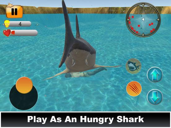 Hungry Shark Simulator : Amazing Fish Attack 2017 screenshot 10