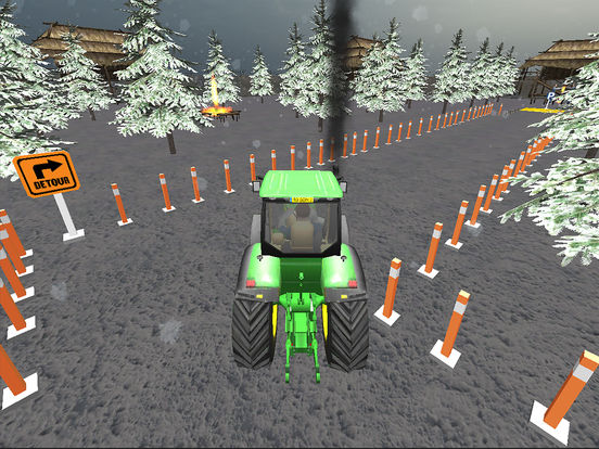 Farming Tractor Parking Driver screenshot 8