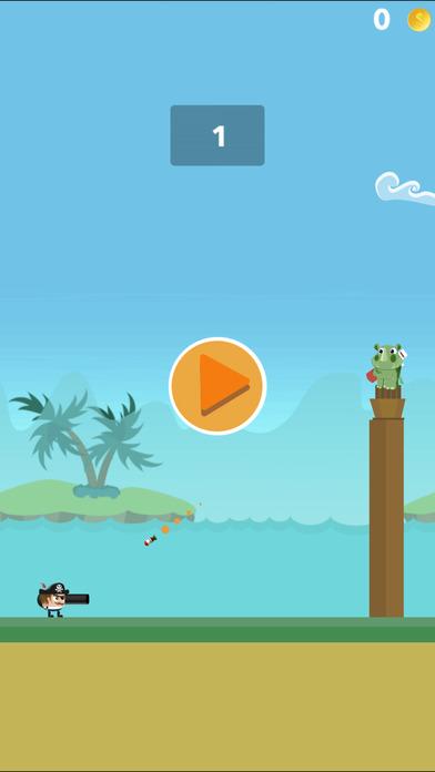 Crazy Pirate Cannon Combat Pro - crazy gun battle screenshot 1