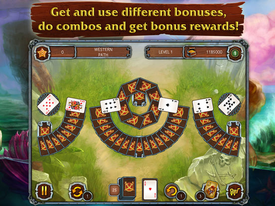 Solitaire Legend of the Pirates screenshot 9