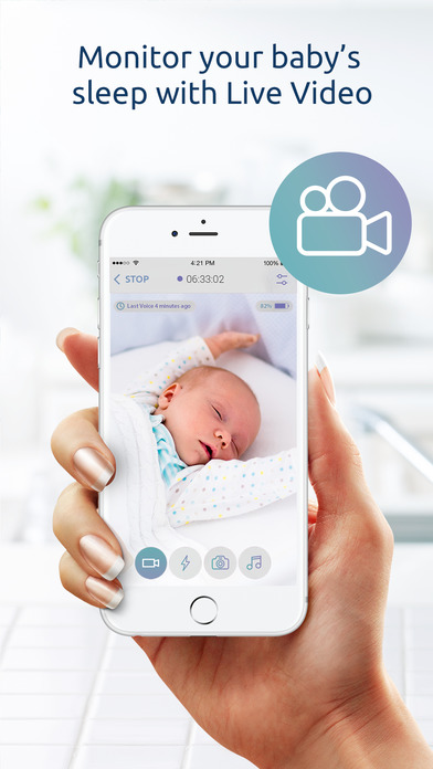 baby monitor iphone app baby monitor for iphone on the app 13533
