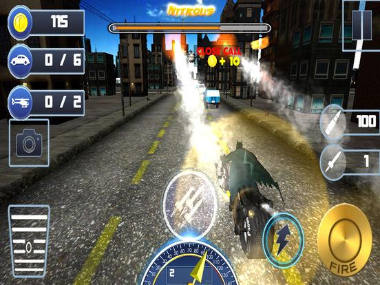 3D Highway Bat Racer : A Kids Super Hero Rider screenshot 4