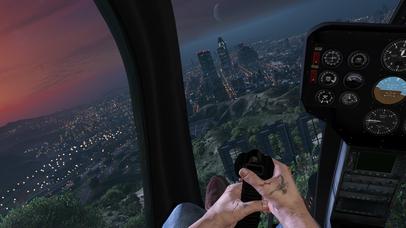 VR Flight Simulator with Google Cardboard Edition screenshot 1