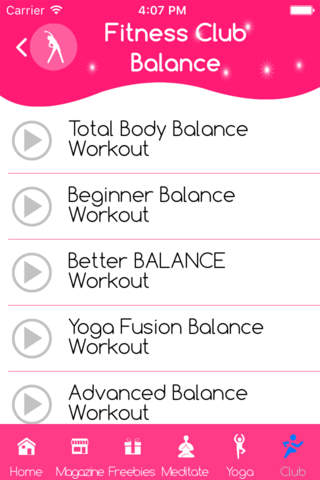 Workout for beauty and balance - náhled
