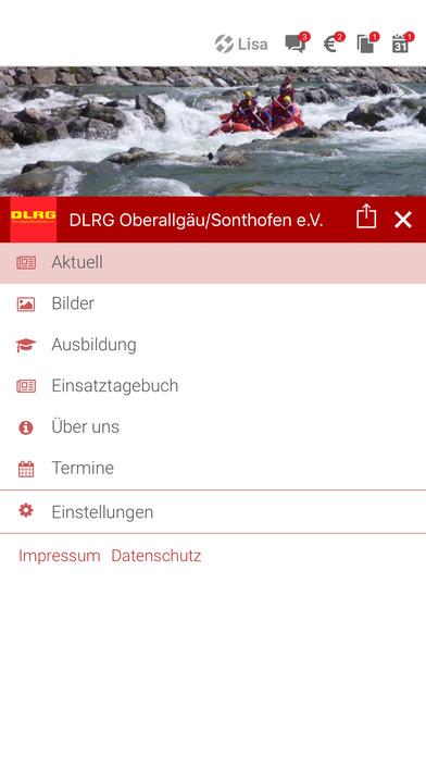 DLRG Oberallgäu / Sonthofen screenshot 2
