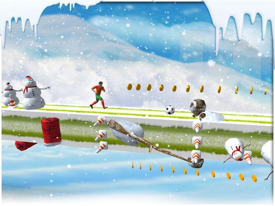 Soccer stunts and race - winters soccer trainer 3d screenshot 8