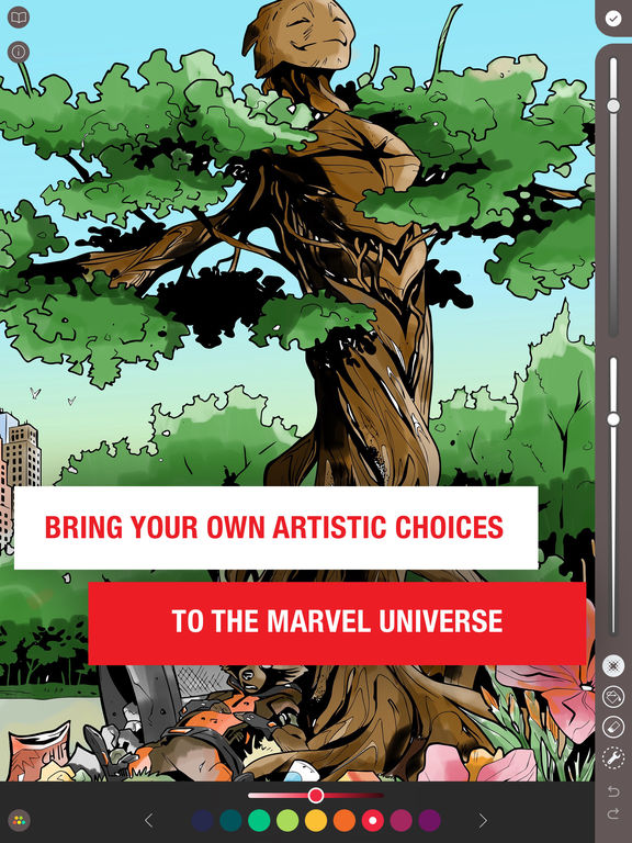 Marvel: Color Your Own screenshot #5