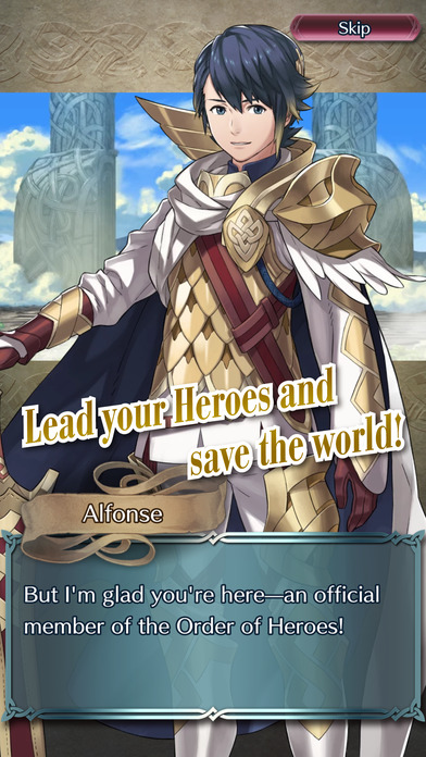 Fire Emblem Heroes screenshot 1