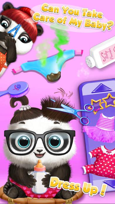 Panda Lu Baby Bear Care - Cute Mini Pet Friend screenshot 2