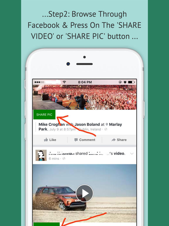 FbToAll Pro-Share From FB To WhatsApp,Email Etc screenshot 5