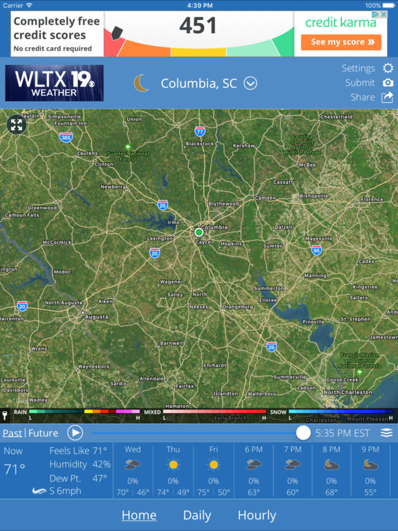 apple store columbia sc wltx weather on the app 10357