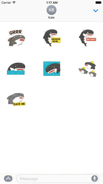 Sharks Stickers screenshot 3