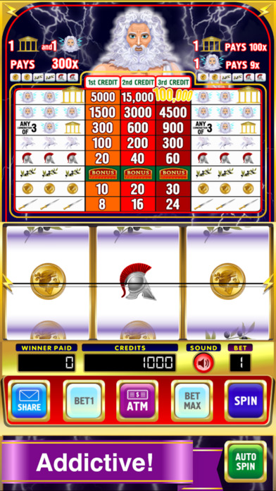 Mega King Titan Slots Pro Edition screenshot 1