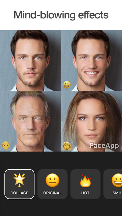 FaceApp - AI Face Editor screenshot 1