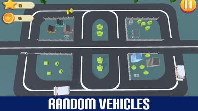 Crazy Circuit Drive Loop Car - Cartoon Crash Taxi screenshot 2