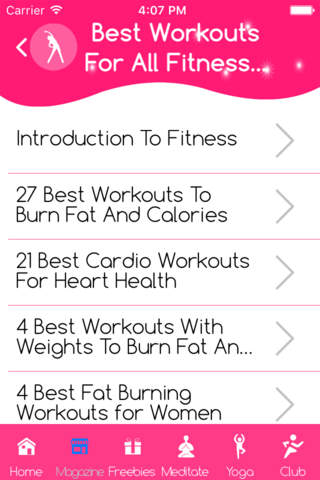 Beginners cardio workout routine - náhled