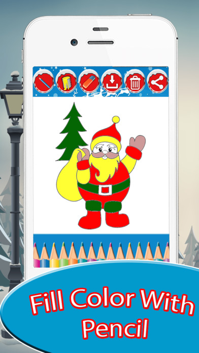 Christmas Drawing Pad screenshot 4